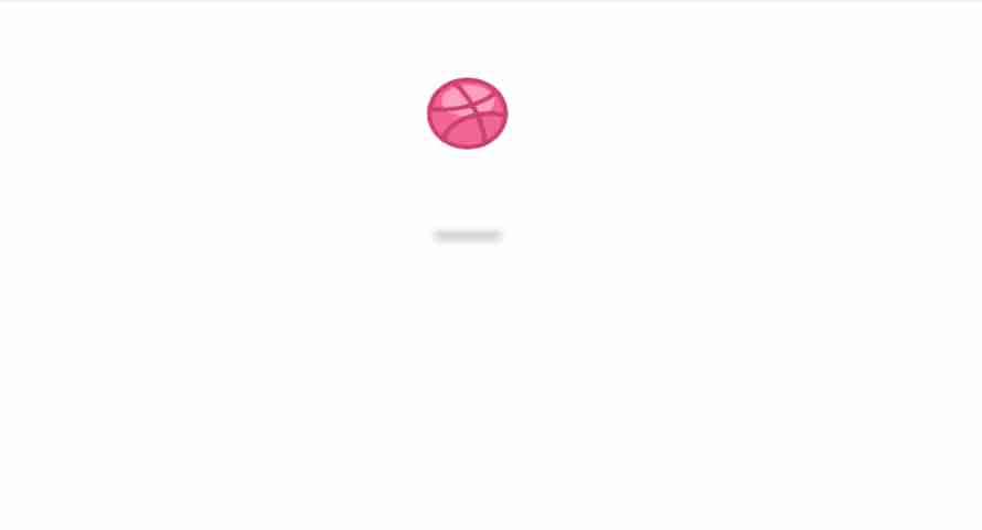 Bouncing Basketball with CSS