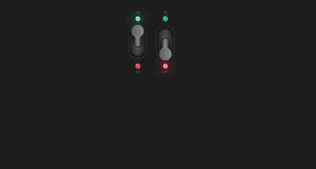 SS Toggle Switch | On Off Button Design Using HTML And CSS