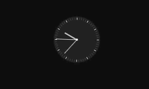 Javascript Clock | CSS Neumorphism Working Analog Clock UI Design