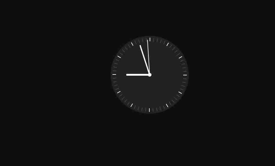 CSS Animation Clock Design Step by Step || Only HTML and CSS Animation Clock Design|| HTML & CSS