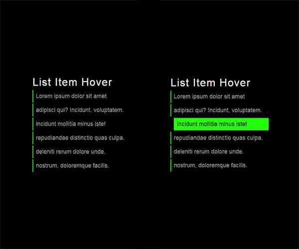 CSS awesome hover effect