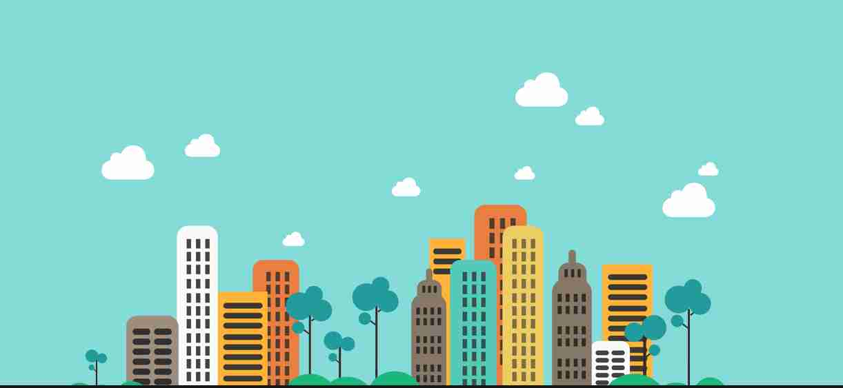 Animated Cityscape with CSS