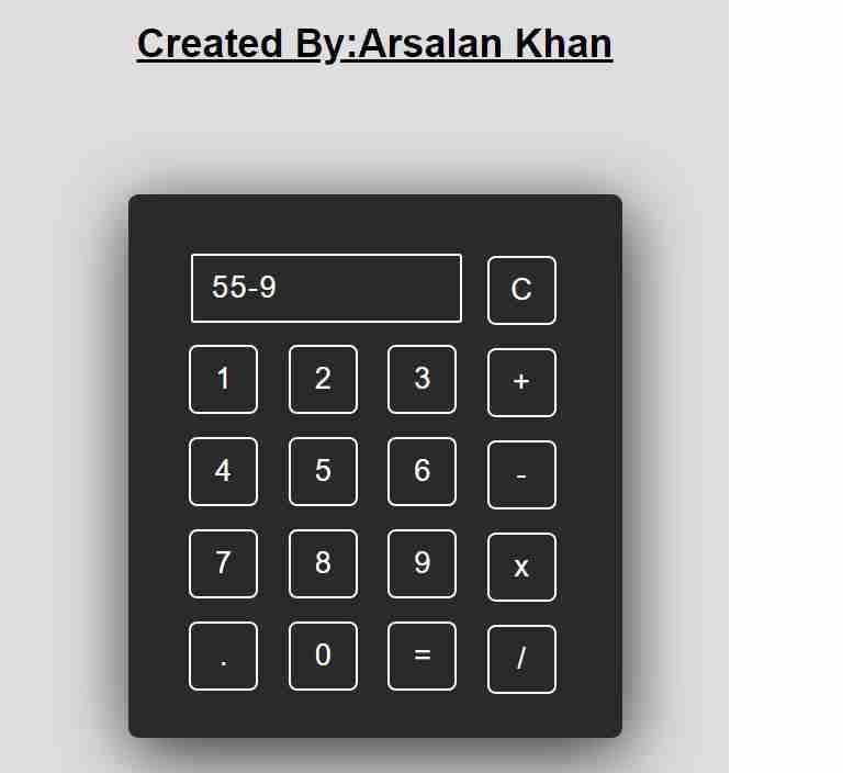 Beautiful UI-Calculator