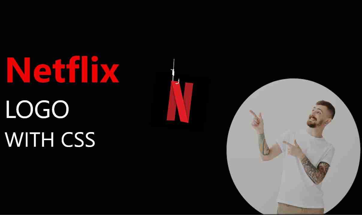 Netflix Logo with CSS