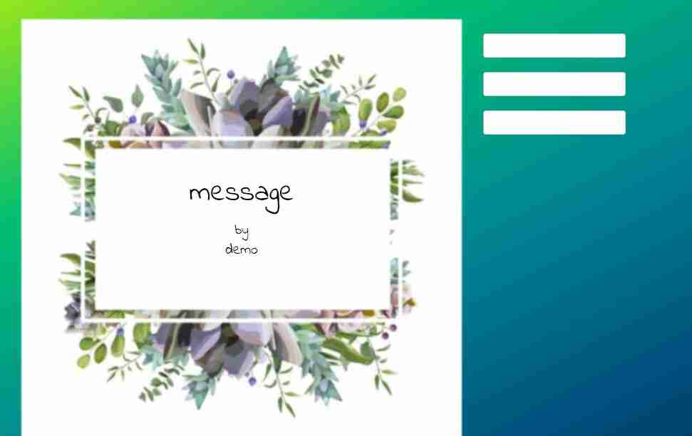 Wish Card Making Template Project Using Html, Css, and js