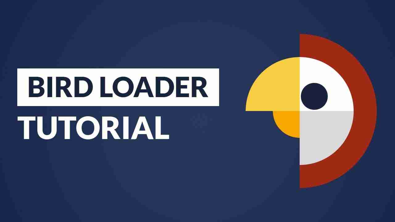 Awesome Bird Loader Using HTML & CSS