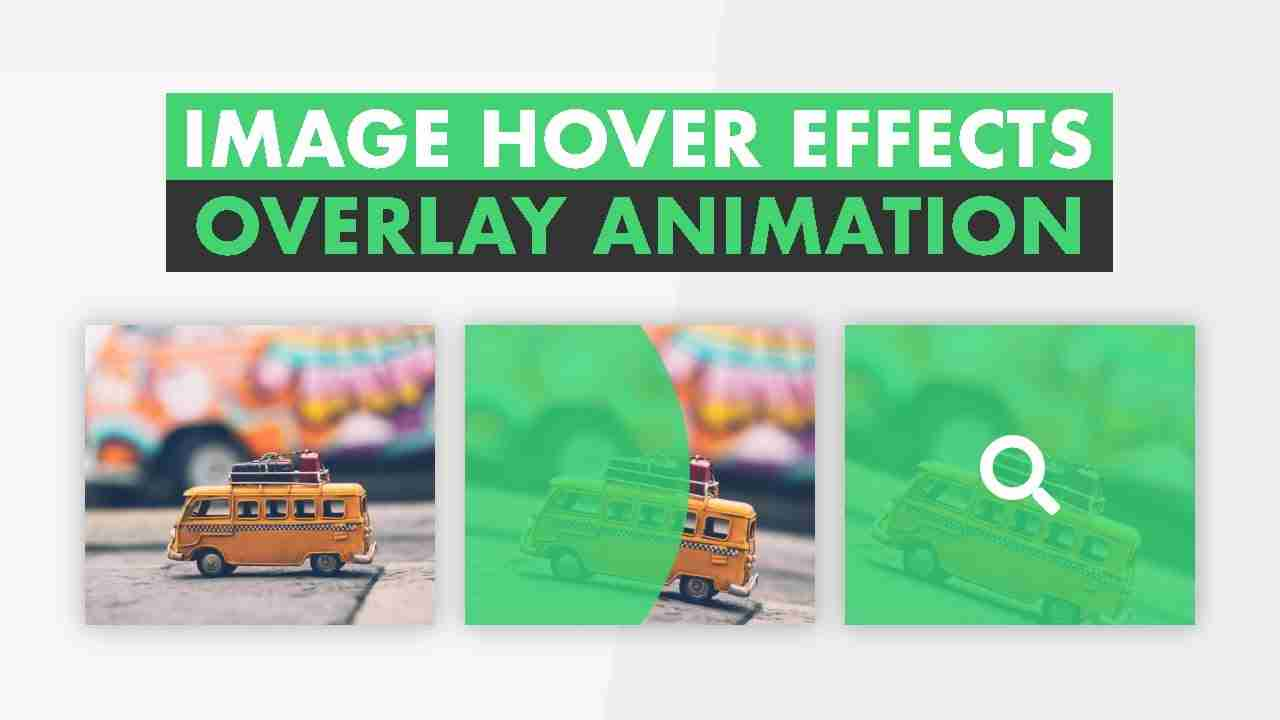 Image Overlay Hover Effects Using HTML & CSS