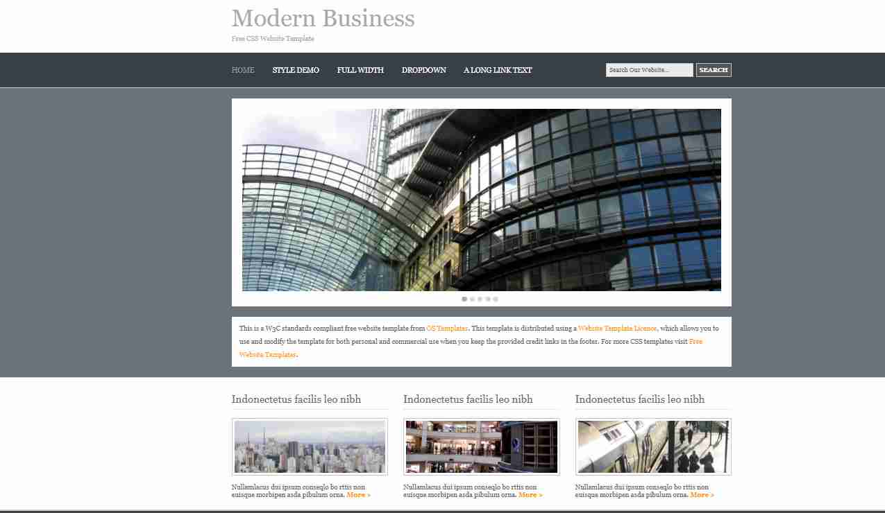 Create Business Website Using HTML And CSS | Corporate Website Design | HTML, CSS (Bootstrap) & JS