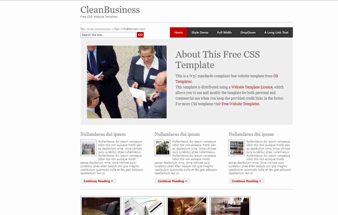 Amazing BusinessWebsite With HTML & CSS || How To Make Busniess web Page