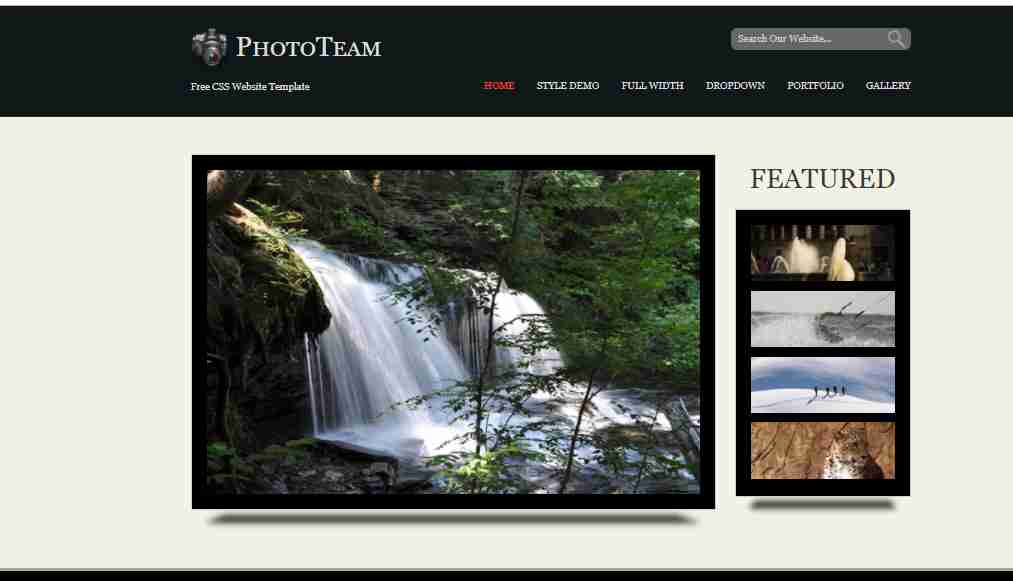 Website Template Design Using Html And CSS   Pure CSS Website Design Tutorial for Beginners
