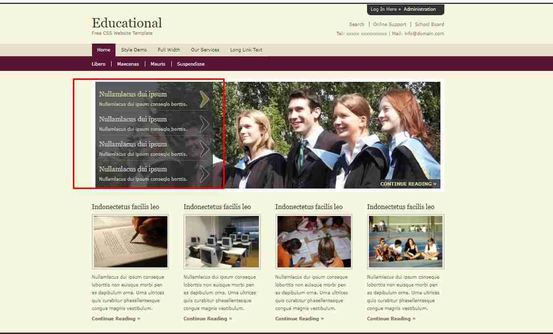 Create Online Courses,  Educational Website