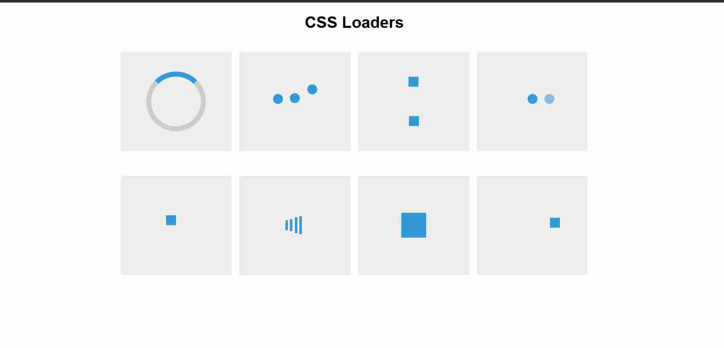 Pure CSS Loader and Spinner Animation | HTML And CSS Tutorial