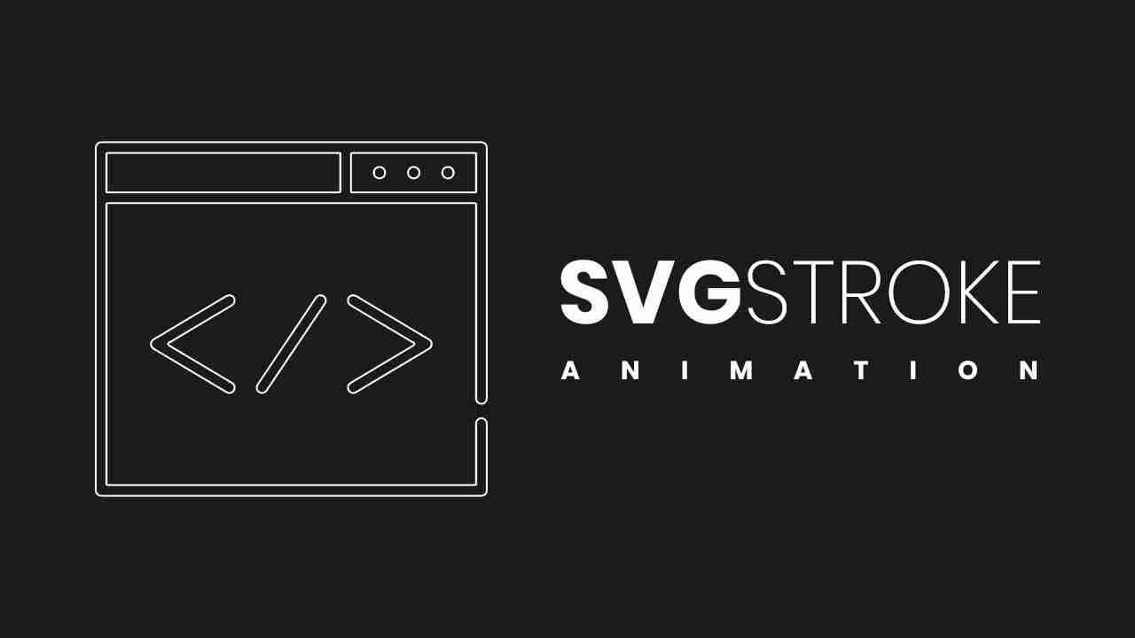SVG Stroke Animation