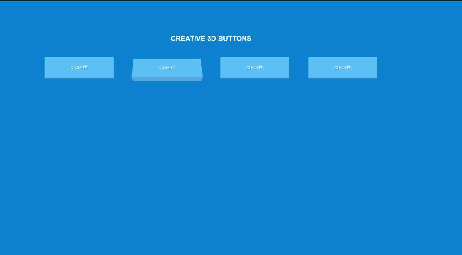 How To Make 3D Buttons Using HTML CSS  HTML & CSS Website Tutorials