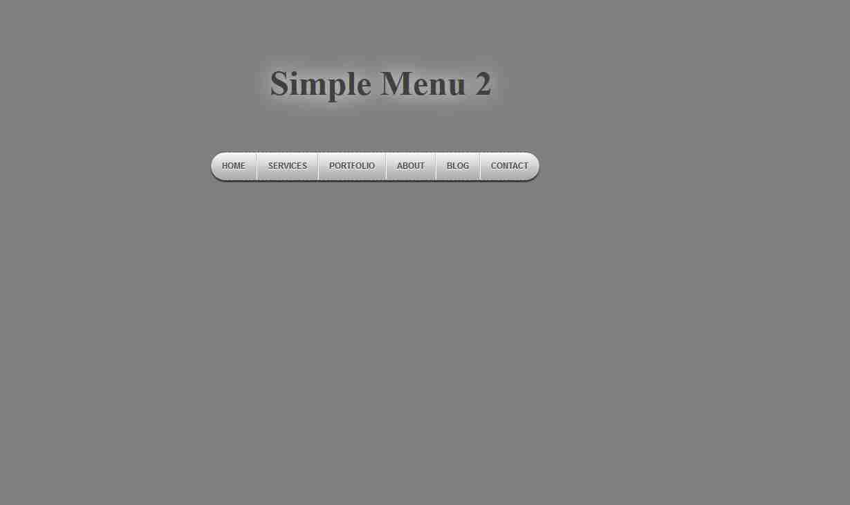 How to create a Simple Dropdown menu using html css