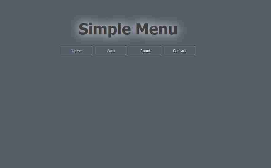 How To Make Drop Down Menu Using HTML And CSS