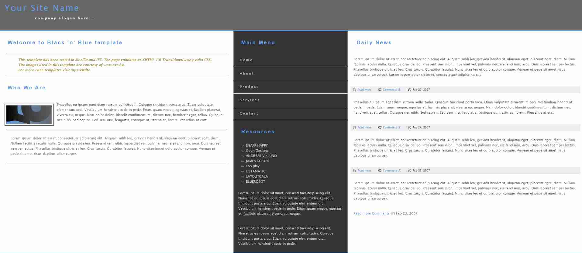 Website Design Using HTML CSS And JAVASCRIPT