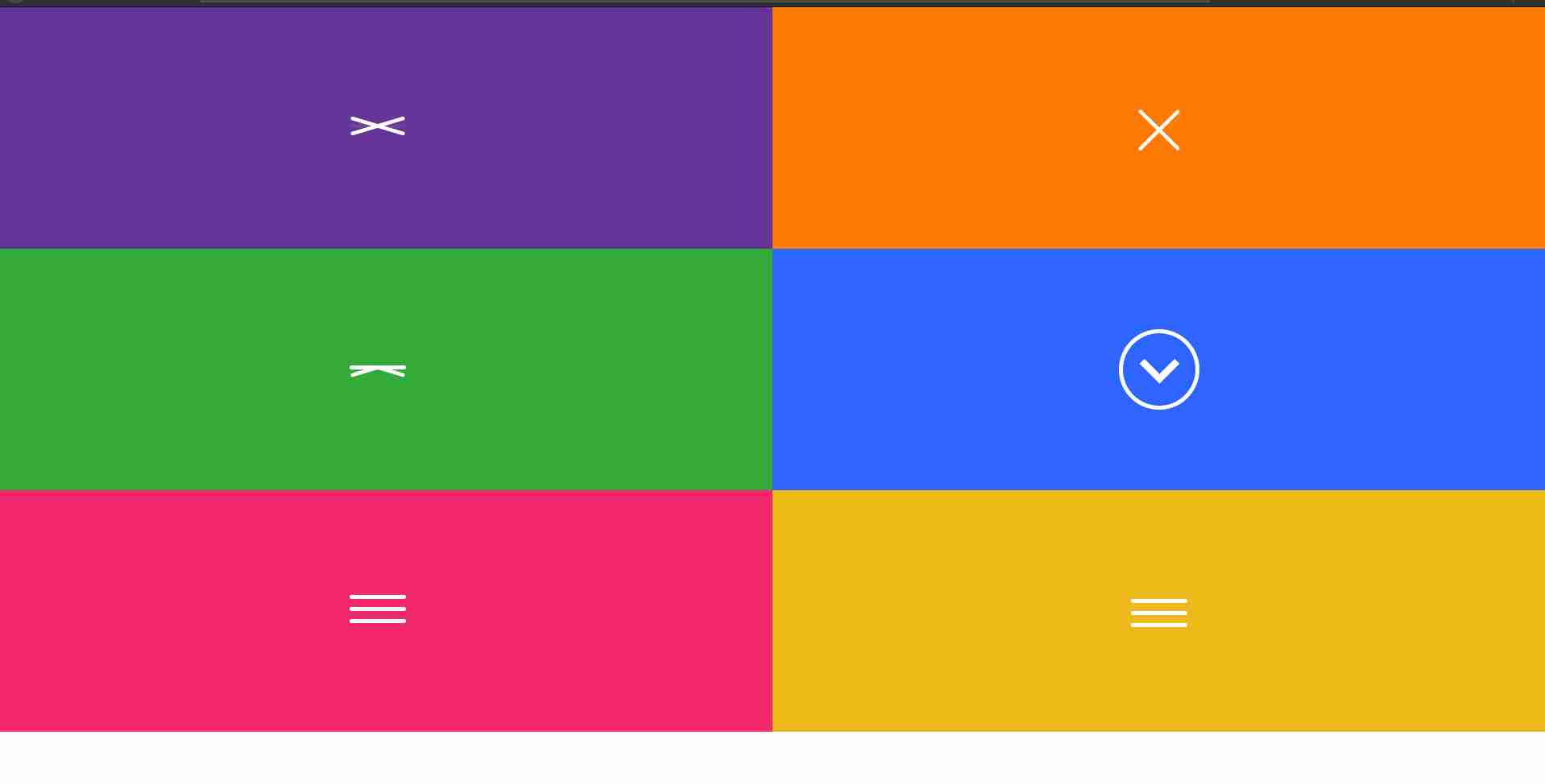 How to create open and close toggle menu with HTML,CSS