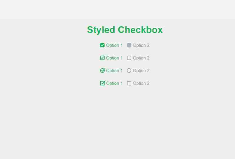 Custom Checkbox CSS | Styling Checkbox | Pure CSS Tutorial