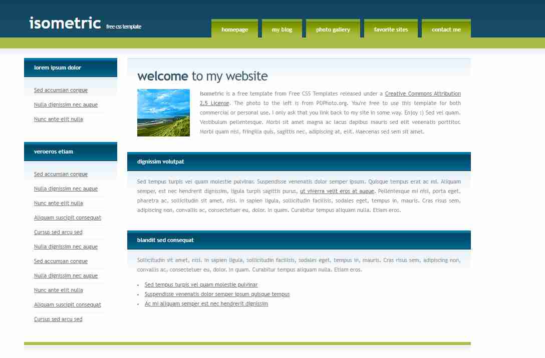 homepage design in html and css with source code