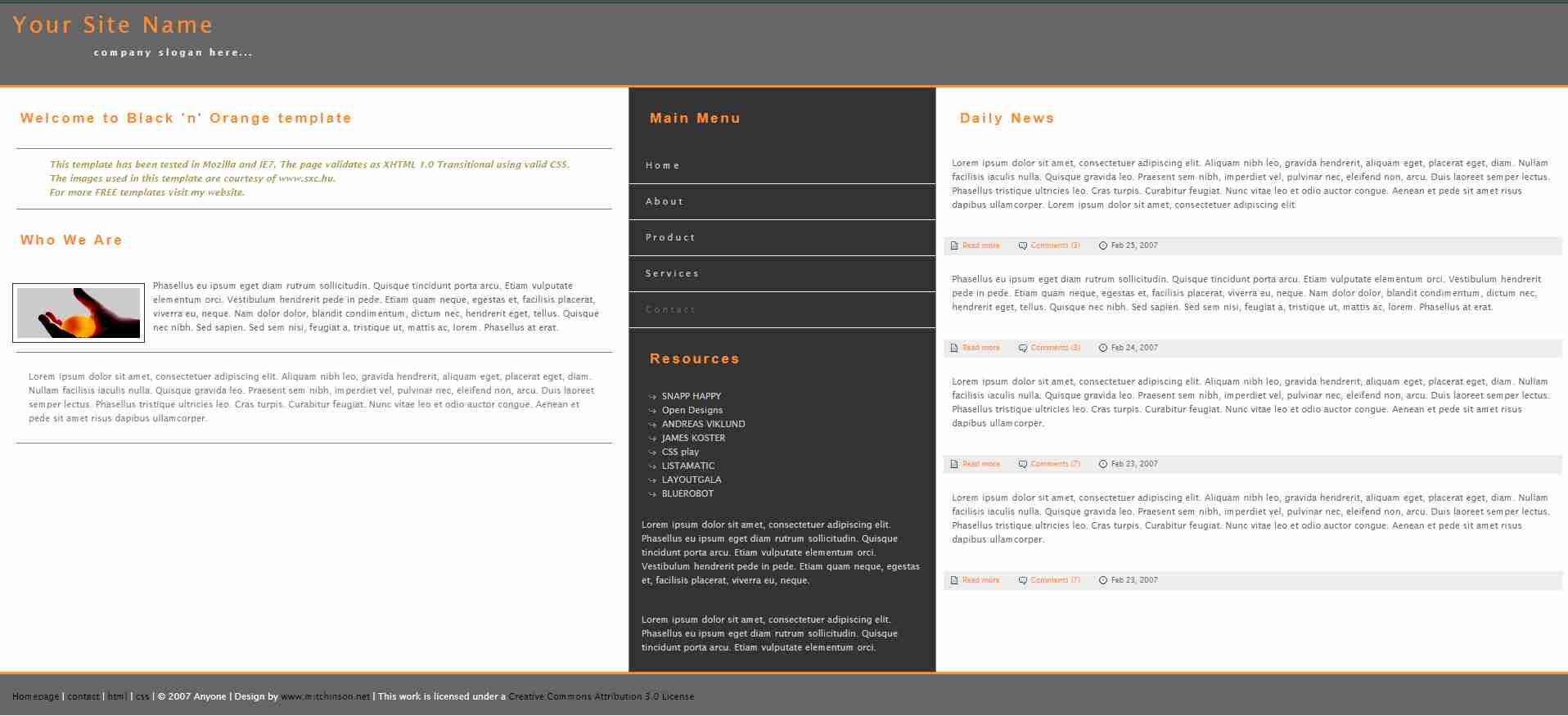 How to Create a Website using HTML and CSS | Homepage Design