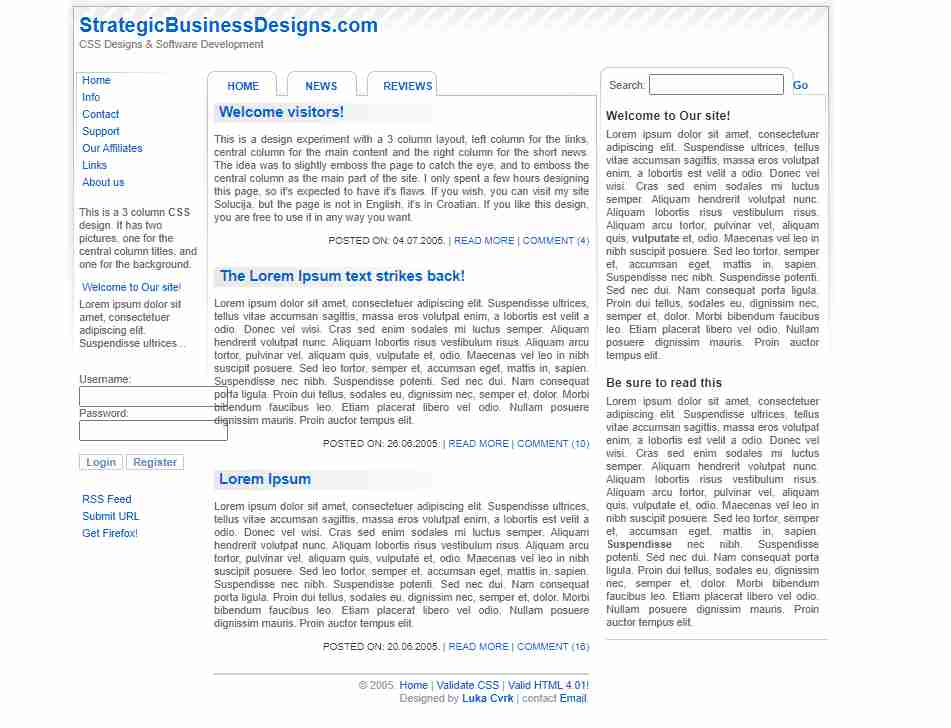 How to Design a Business Website Template