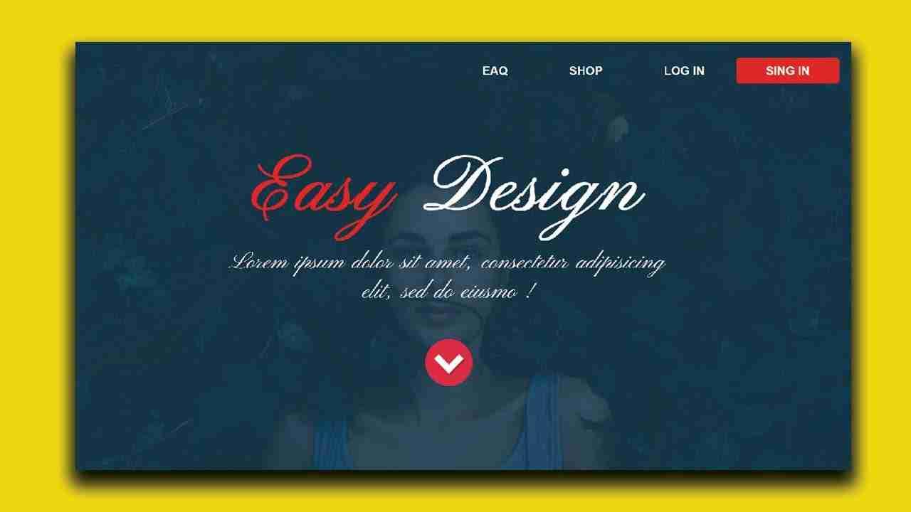 Build a Full Parallax Website