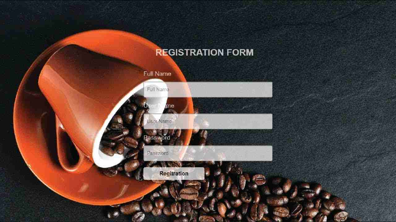 How To Create a Registration Form in HTML From Scratch