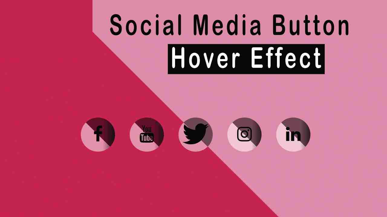 How to Add Social Share Icons with Unique Hover Effects
