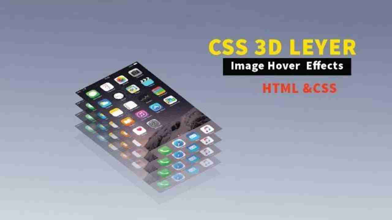 CSS 3d Layered Image Hover Effects - CSS
