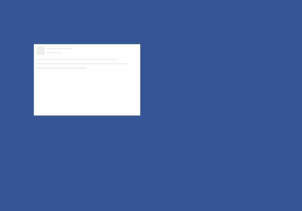Pure CSS3 - Facebook like animated loading content box