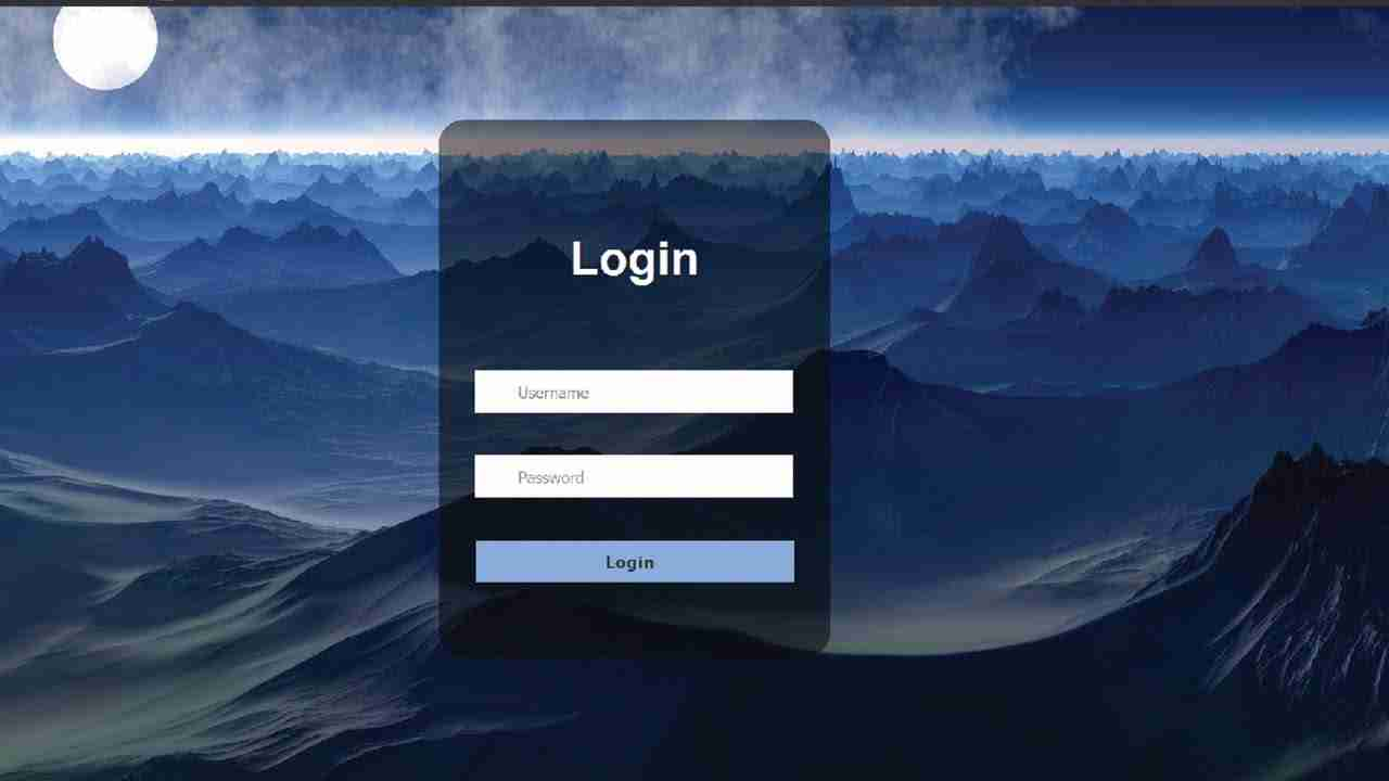 How To Create Login Form with  HTML and CSS |  Login Form In HTML and CSS
