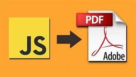 Generate your CV in pdf format javascript