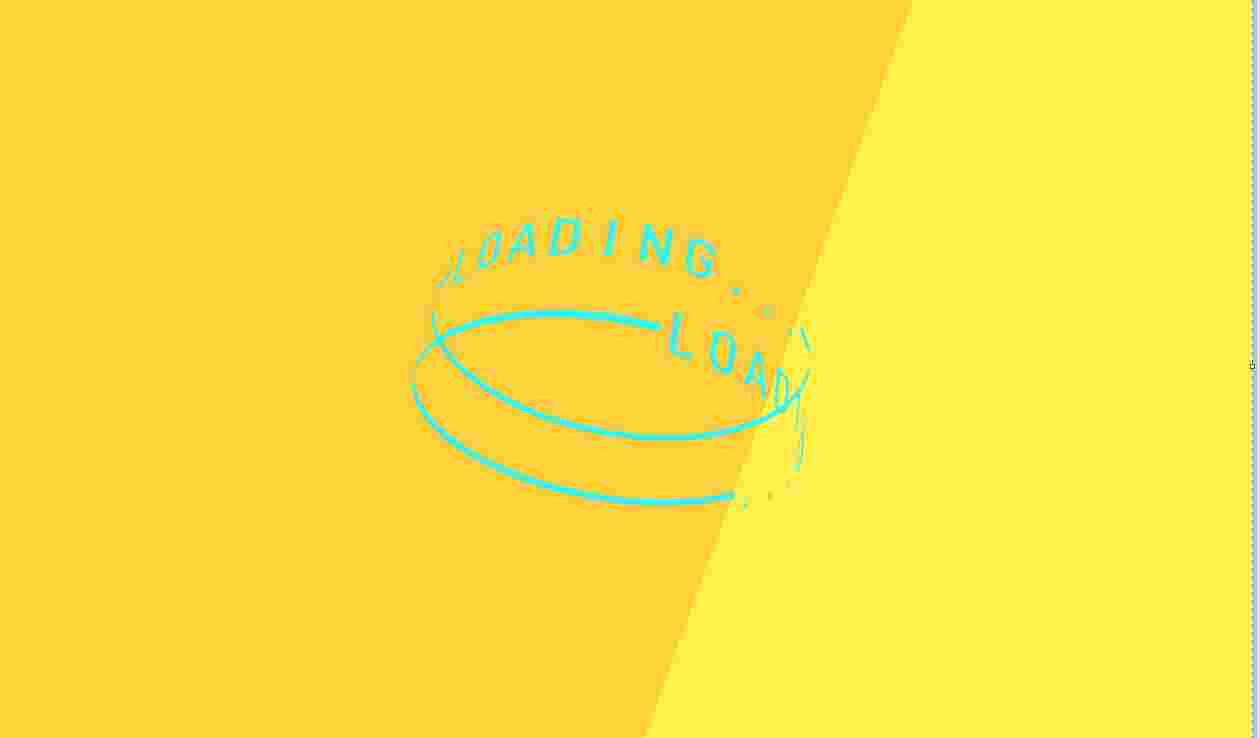 text-ring-loading-animation use html and css