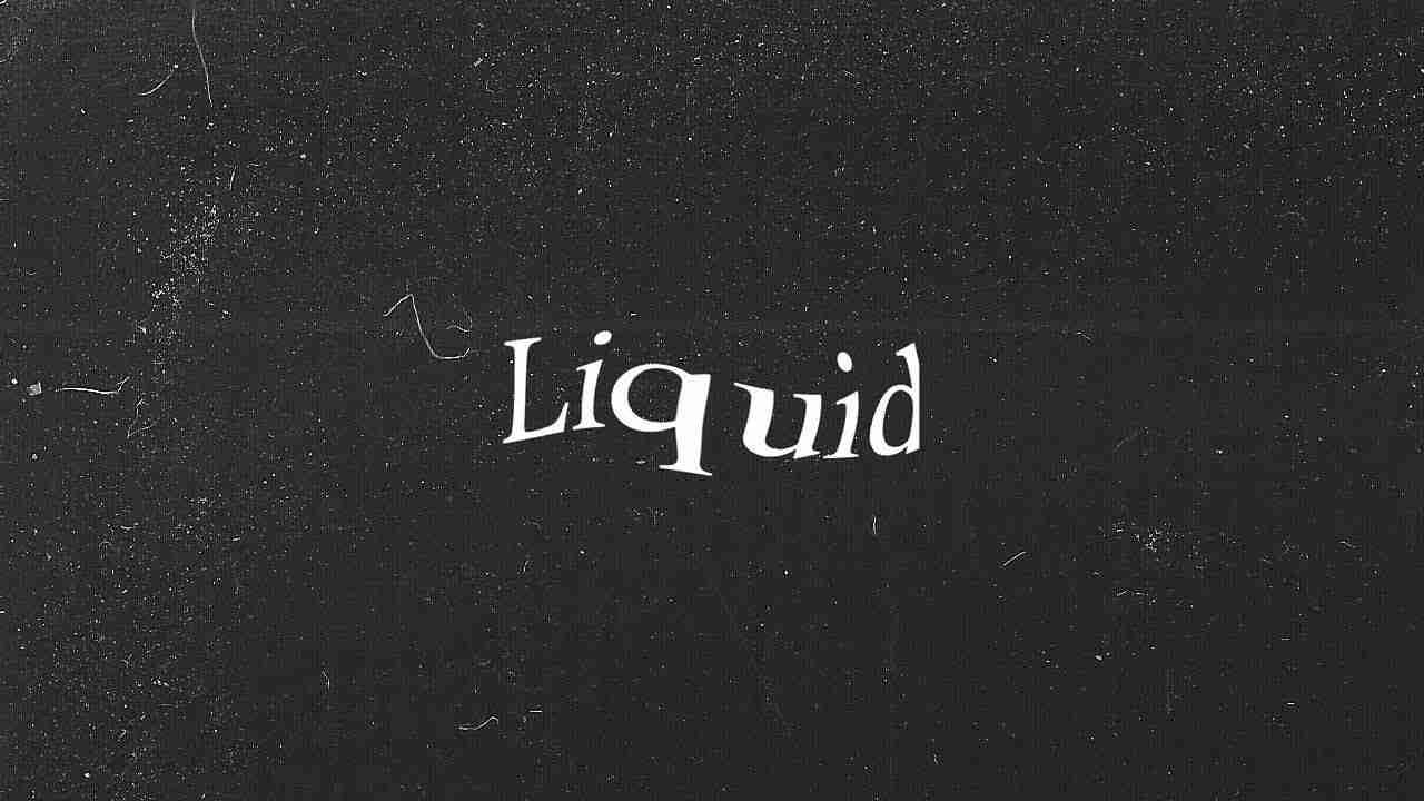 Create Liquid Distortion Text using BlotterJS (Javascript API) - Blotter JS Tutorial