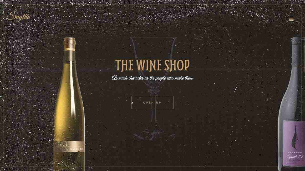 The Wine Shop Concept | Responsive Content Slider | HTML, CSS & JAVASCRIPT (GREENSOCK)