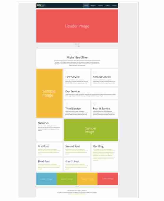 Bricker lite – Responsive business website template ||