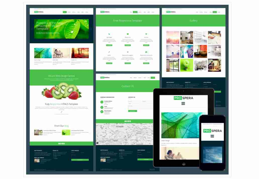 Prospera – Responsive business website template || Responsive business website template
