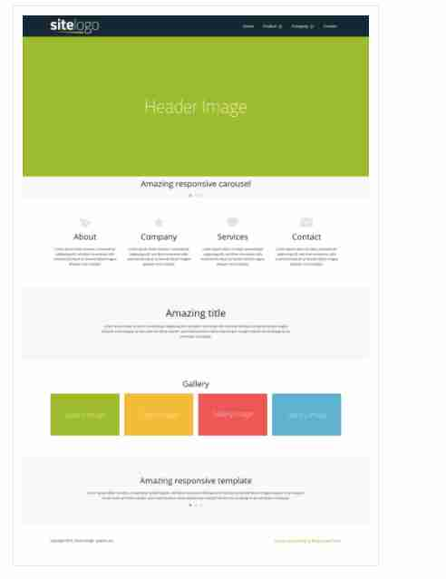 Fullwidth – Responsive website template