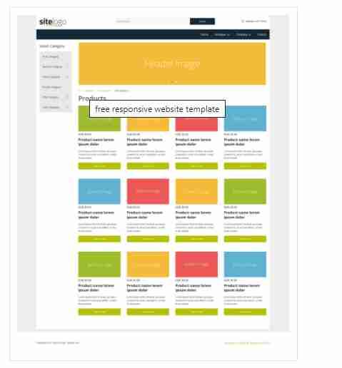 Store – Responsive online shop template