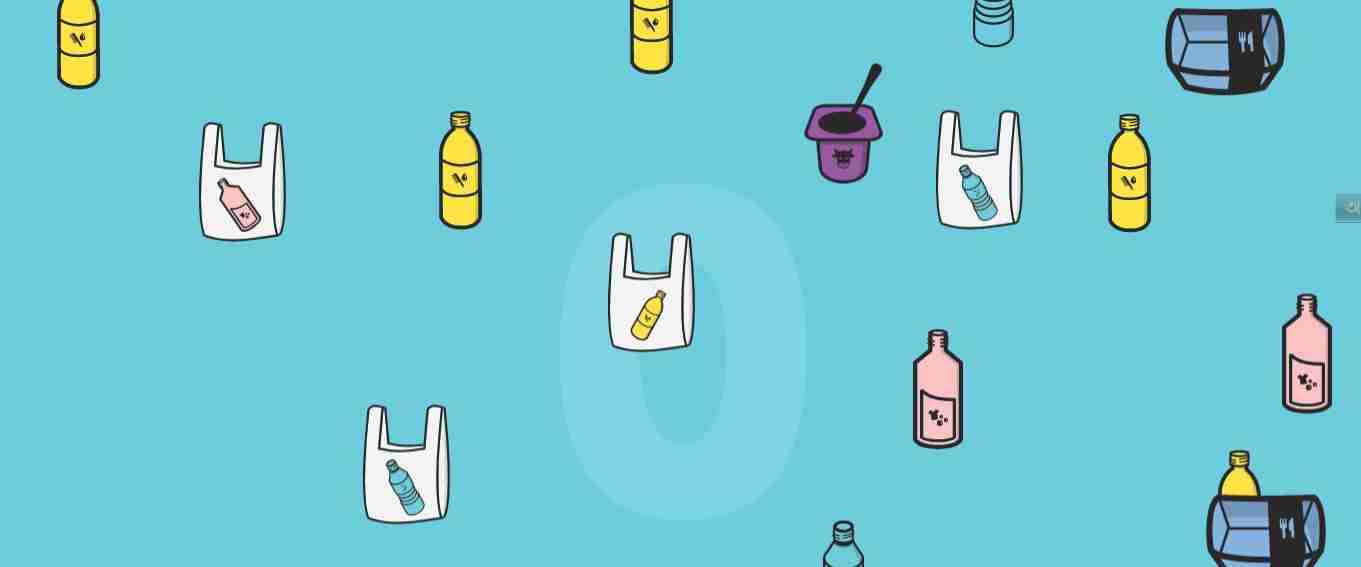 Recycling Game Using HTML CSS And JS