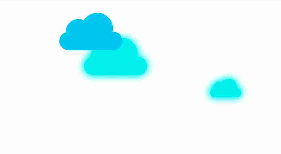 Cloud Moving Effect using CSS Animation by Habib Pro