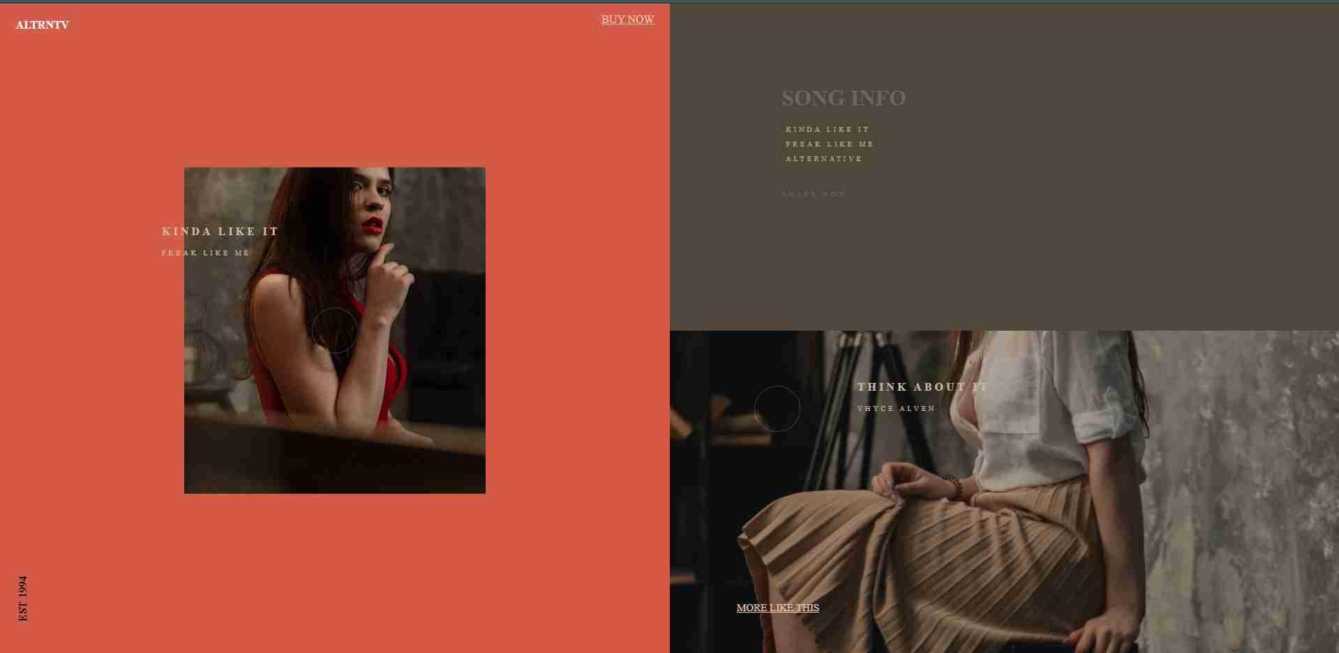 Music-Website-Theme