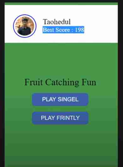 Fruits Catching Facebook Instant Game Complete Source Code.