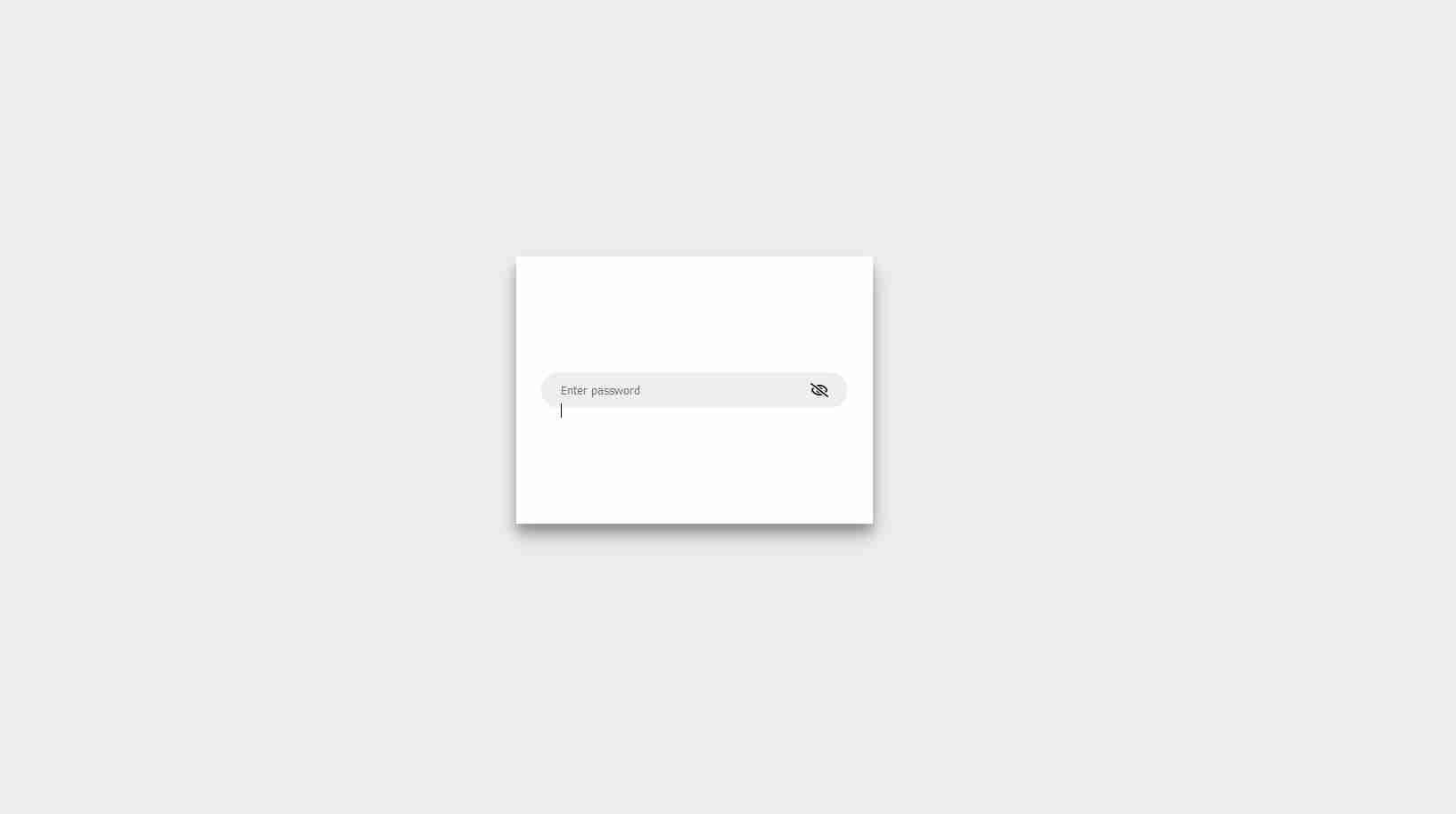 password input html css js