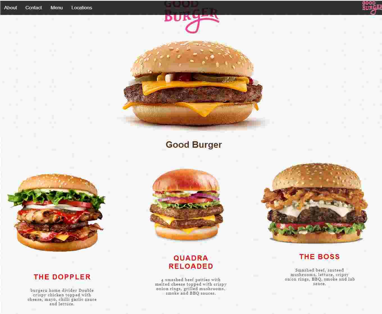 Burger House Website