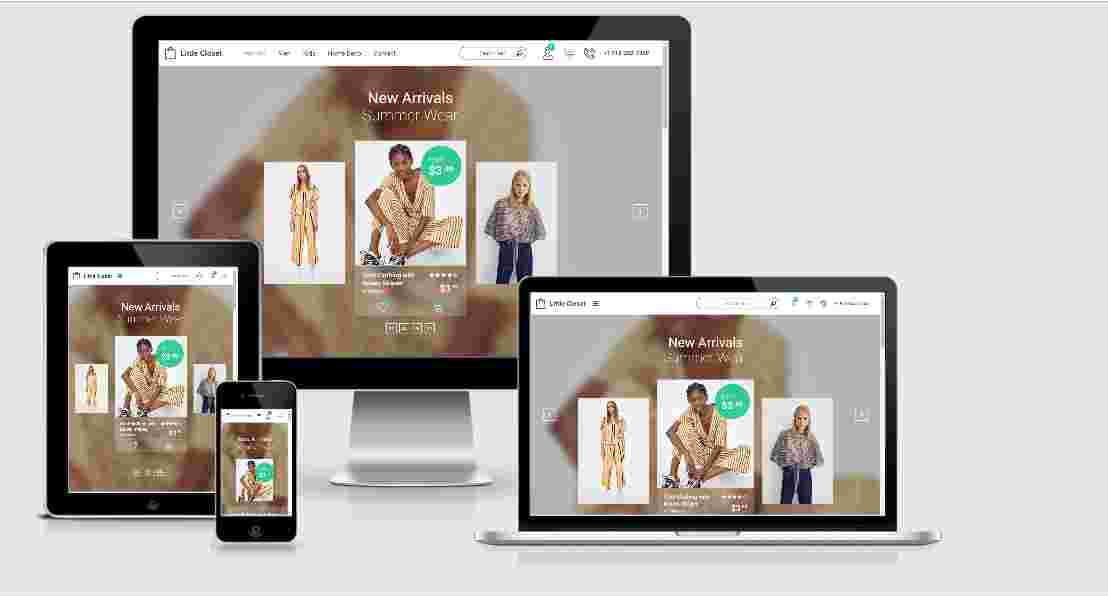 Free eCommerce Website Template Source Code