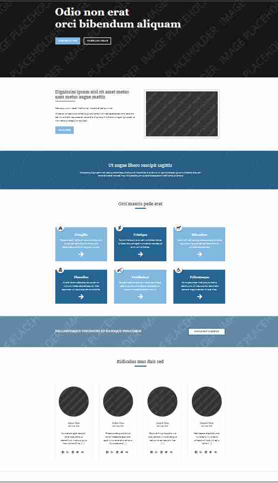 simple website templates free download html with css