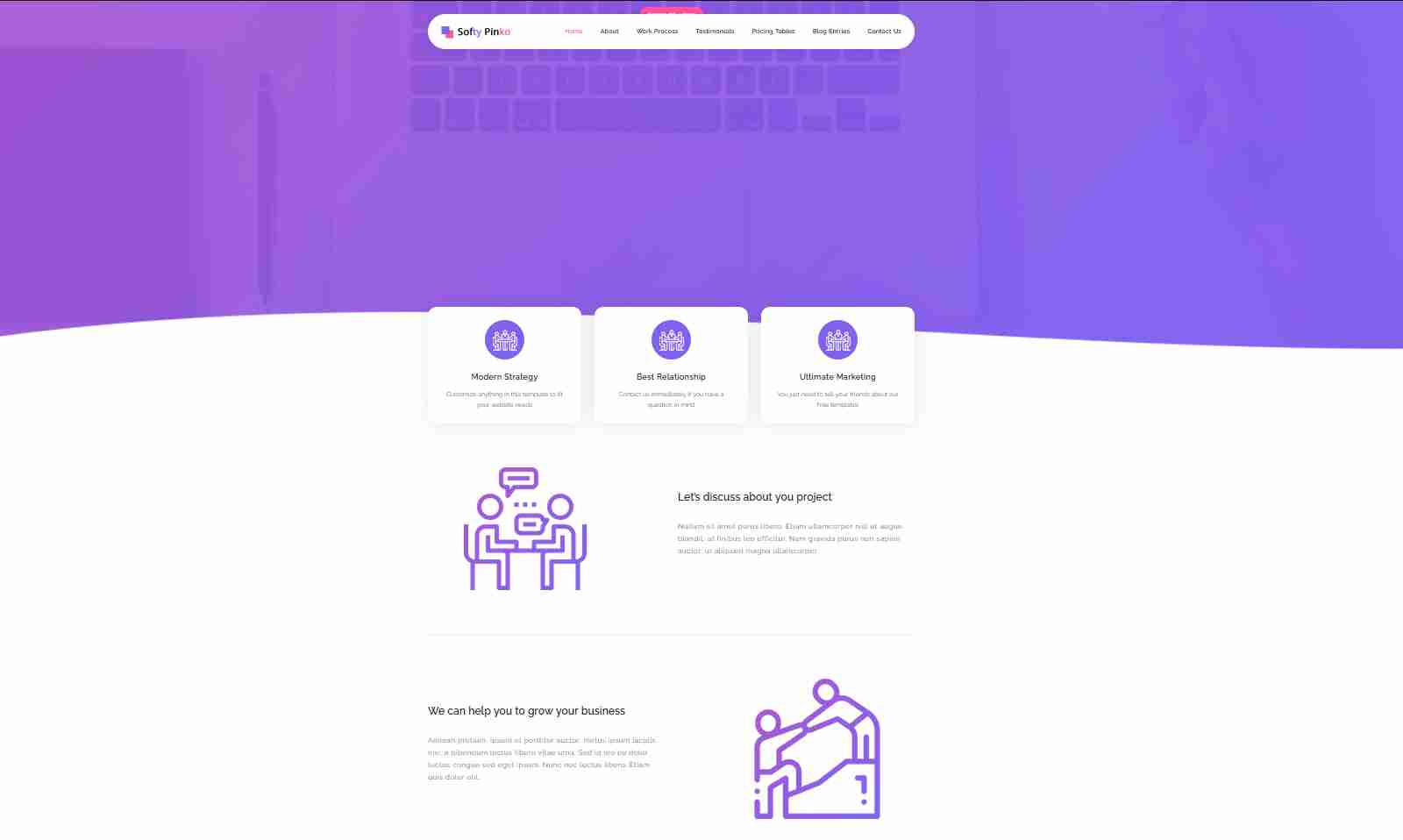 professional website templates free download html with css