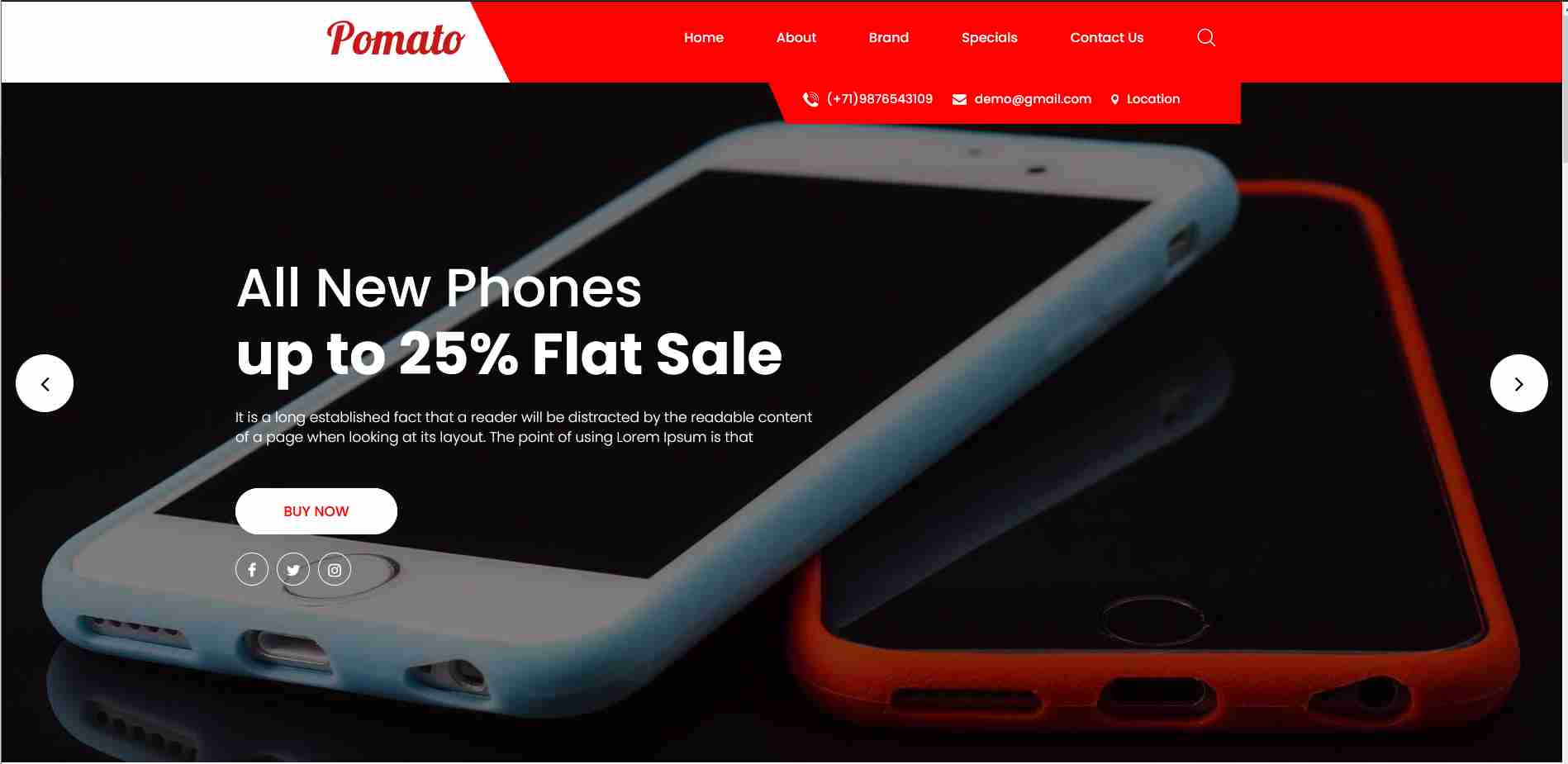 pomata  website templates free download html with css